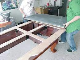 Pool table moves in Roanoke Virginia