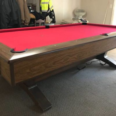 Brunswick 9 Foot Pool Table
