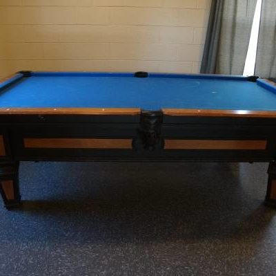 Olhausen Slate Brentwood Maple Pool Table