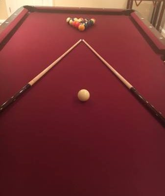 Brand New 8ft Slate Pool Table & Accessories
