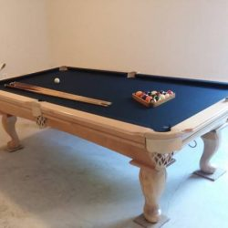 Navy Felt-Like new pool table